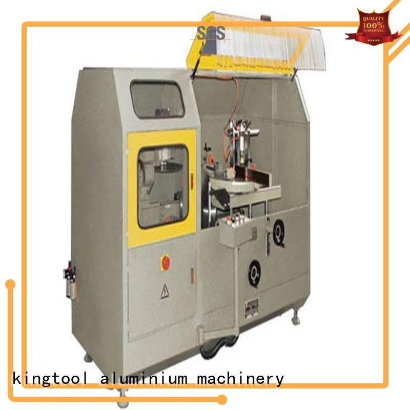 kingtool aluminium machinery aluminum aluminium window machinery for aluminum profile in workshop