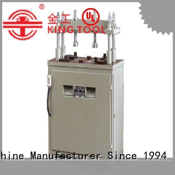 kt373c pnumatic aluminum punching machine machine kingtool aluminium machinery