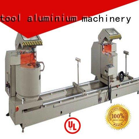 aluminium cutting machine price display 45degree duty kingtool aluminium machinery