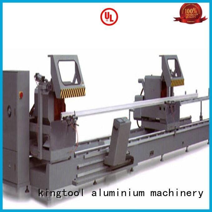 single head saw aluminium cutting machine price heavyduty kingtool aluminium machinery Brand aluminium cutting machine manual
