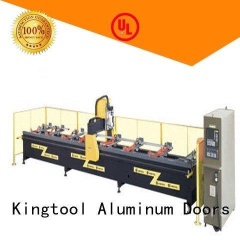 kingtool aluminium machinery aluminium router machine 3axis cutting profile industrial