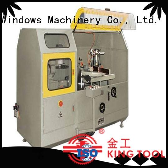 kingtool aluminium machinery eco-friendly aluminium fabrication cutting machine in plant