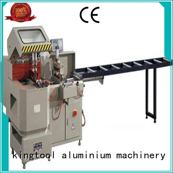 kingtool aluminium machinery heavyduty cutting machine price for aluminum door in workshop