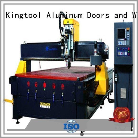 cnc router aluminum cutting machining panel industrial kingtool aluminium machinery