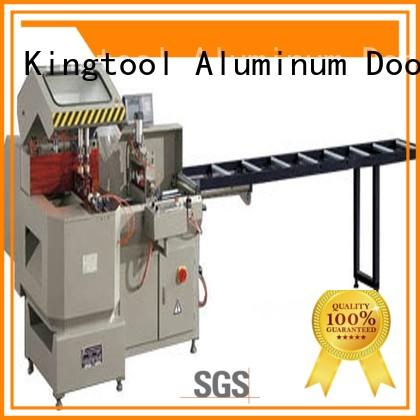 manual curtain thermalbreak aluminium cutting machine heavyduty kingtool aluminium machinery Brand