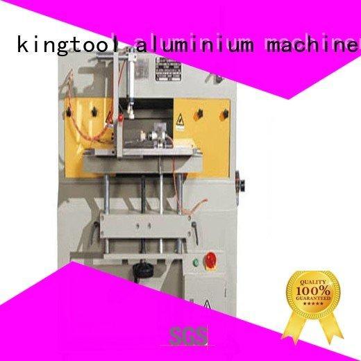 arc curtian milling aluminum end milling machine kingtool aluminium machinery