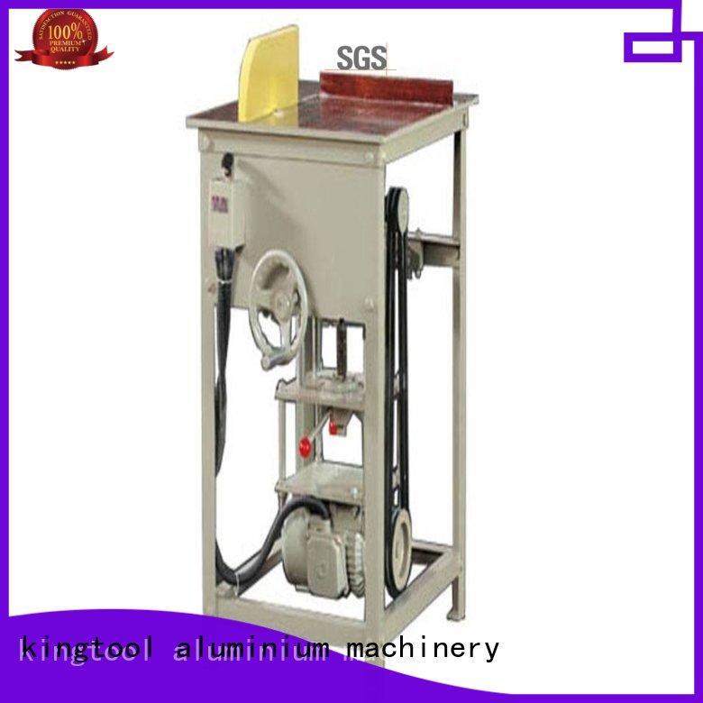 kingtool aluminium machinery adjustable aluminium profile cutting machine for curtain wall materials in workshop