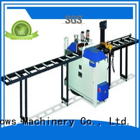 durable aluminium cutting machines wall for aluminum door in plant