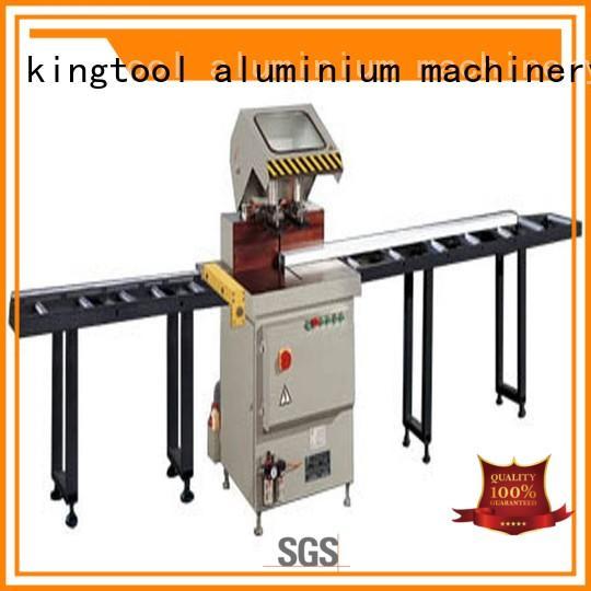 kingtool aluminium machinery Brand profiles aluminum duty custom aluminium cutting machine price