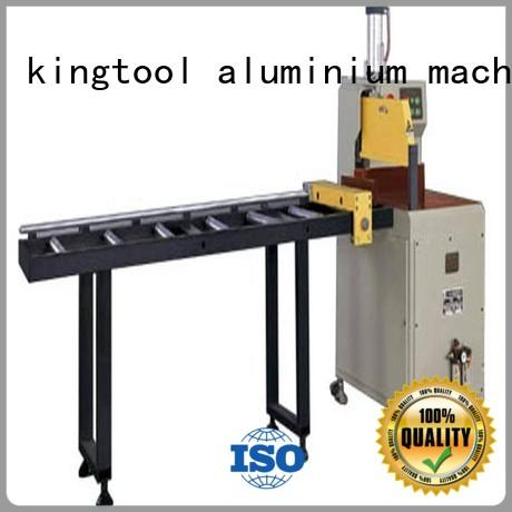kingtool aluminium machinery wall aluminium cutter for aluminum window in workshop