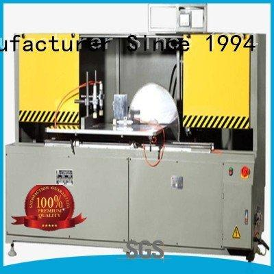 aluminum curtain wall machinery cutting single aluminum curtain wall cutting machine