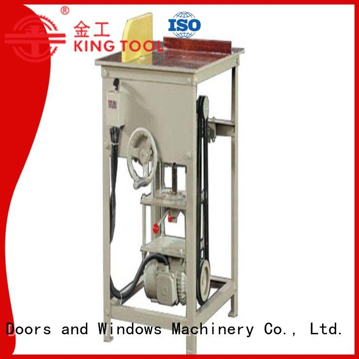 kingtool aluminium machinery full aluminium laser cutting machine for aluminum door in factory