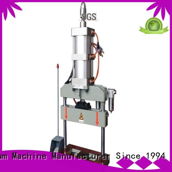 kingtool aluminium machinery durable steel hole punching machine free design for tapping