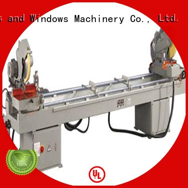 2axis aluminium cutting machine mitre thermalbreak kingtool aluminium machinery company