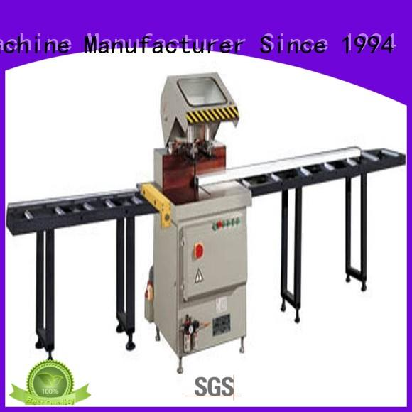 angle aluminum cutting machine profiles in workshop kingtool aluminium machinery