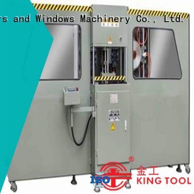 kingtool aluminium machinery profile machine cnc milling machine for sale curtain end