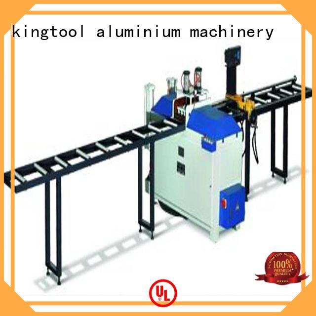 kingtool aluminium machinery automatic cnc laser cutting machine for heat-insulating materials in plant