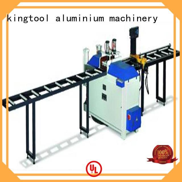 kingtool aluminium machinery automatic cnc laser cutting machine for heat-insulating materials in plant