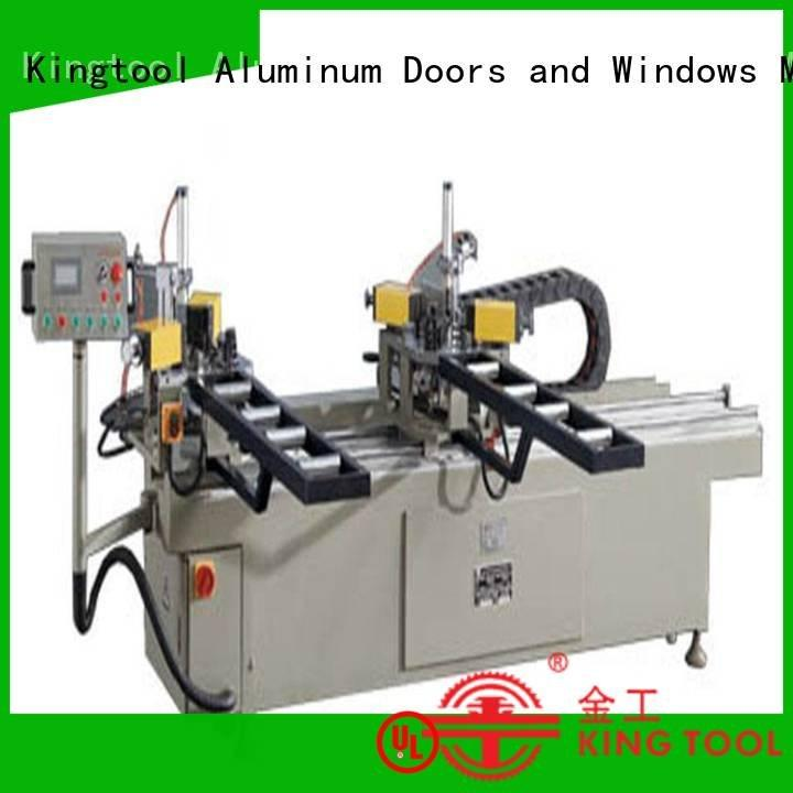 aluminium crimping machine for sale machine corner kingtool aluminium machinery Brand