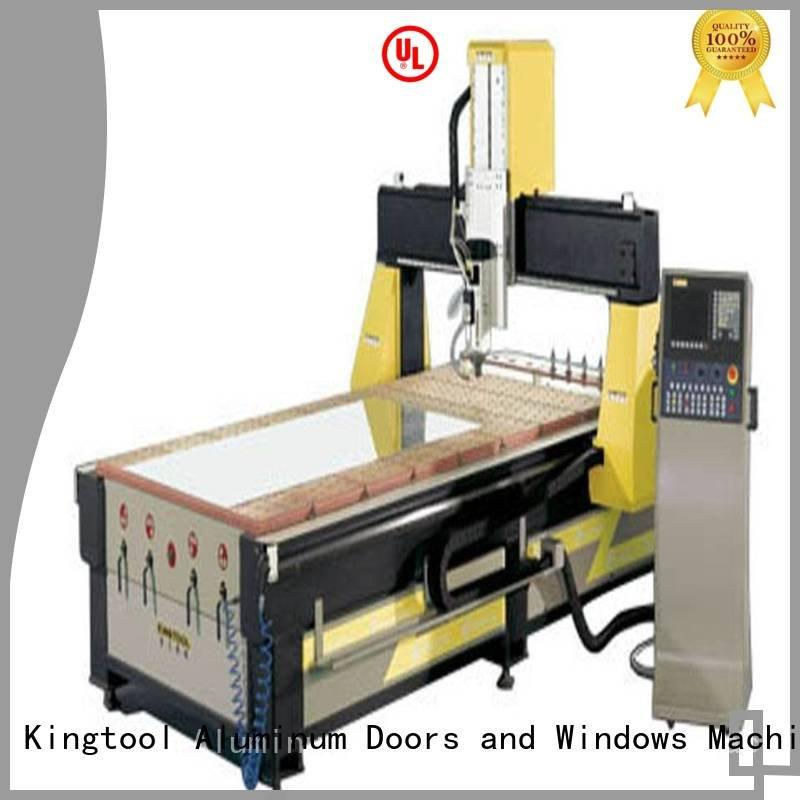 cnc router aluminum double router aluminium router machine kingtool aluminium machinery Brand