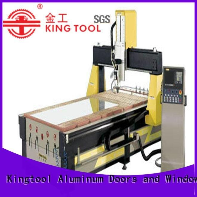 cnc router aluminum aluminium kingtool aluminium machinery Brand aluminium router machine