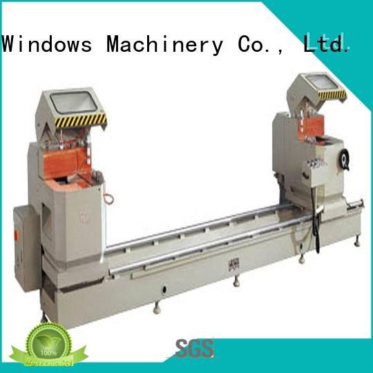 kingtool aluminium machinery adjustable cnc cutting machine for aluminum window in workshop
