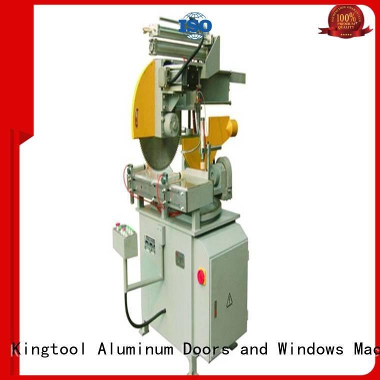 kingtool aluminium machinery single aluminium cutting machine price automatic