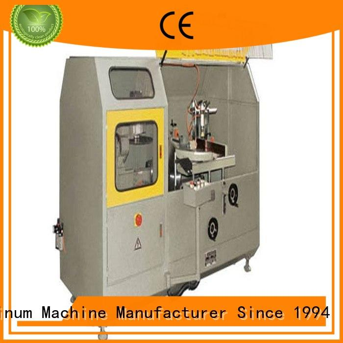 wall single head saw kingtool aluminium machinery Brand aluminum curtain wall cutting machine