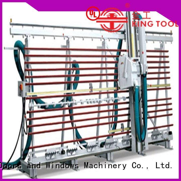 kingtool aluminium machinery panel ACP Processing Machine for plastic profile in plant
