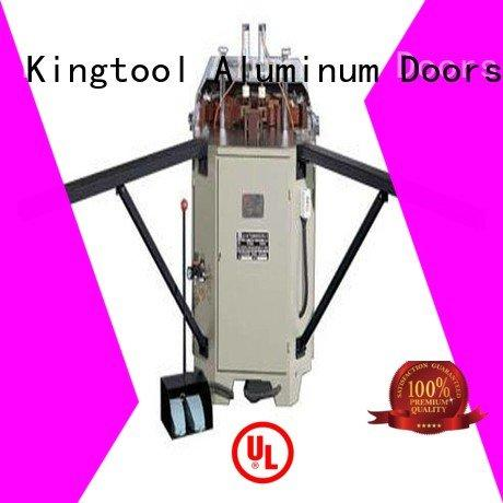 kingtool aluminium machinery Brand aluminum corner aluminium crimping machine for sale heavy doubl ecorner