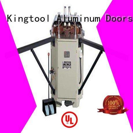 kingtool aluminium machinery Brand aluminum corner aluminium crimping machine for sale heavy doubl ecorner