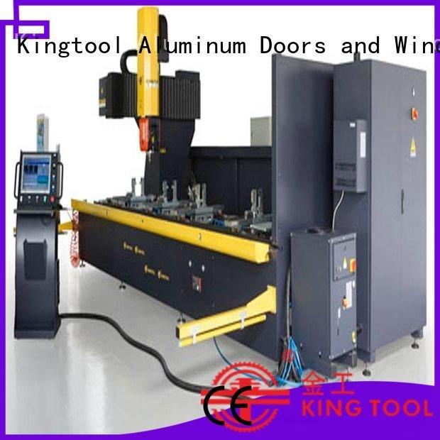 center machine router cnc router aluminum kingtool aluminium machinery