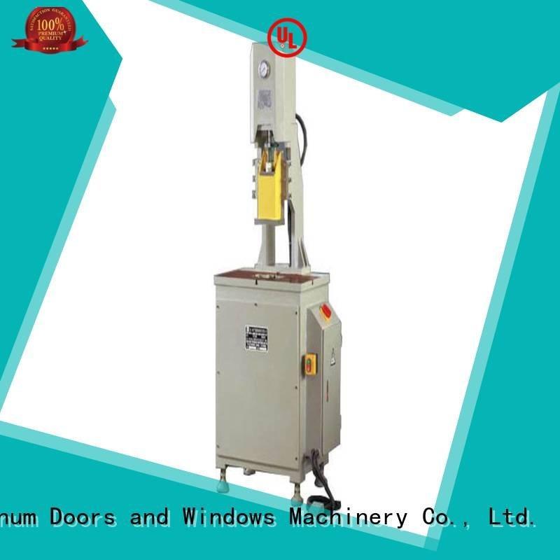 kingtool aluminium machinery aluminium punching machine column profile multicy linder punching
