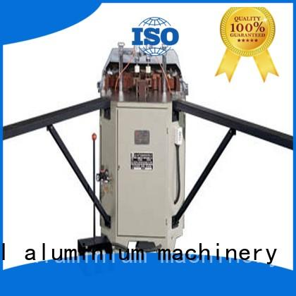 aluminium tube crimping machine corner for PVC sheets kingtool aluminium machinery