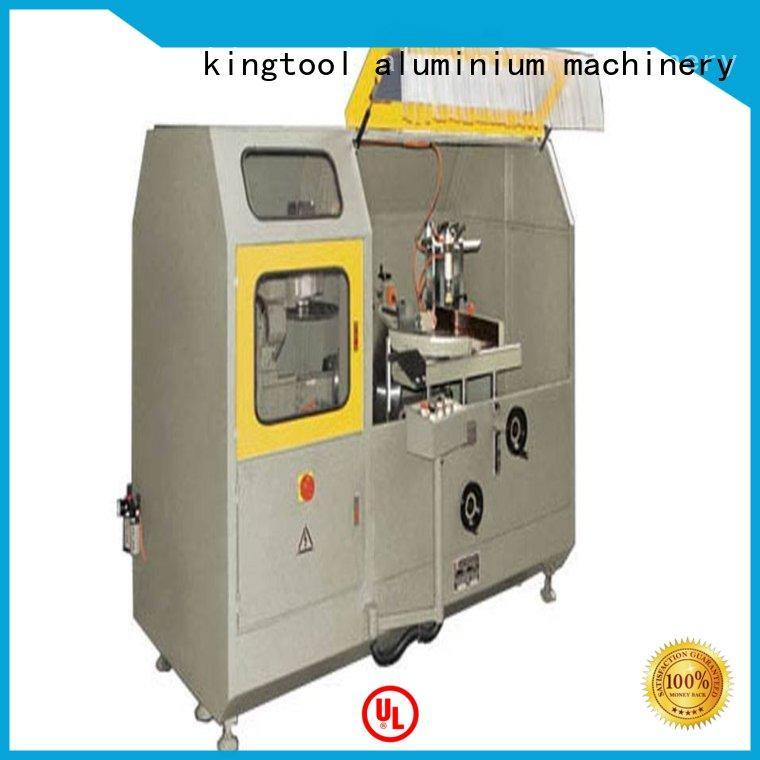kingtool aluminium machinery wall cnc aluminum cutting machine in factory