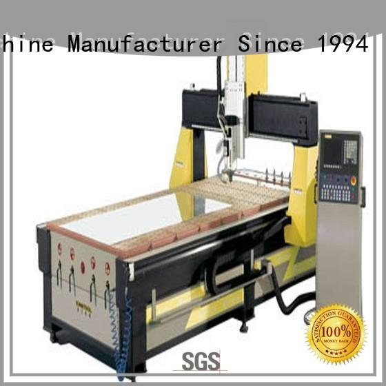 best aluminium router machine cutting producer for grooving