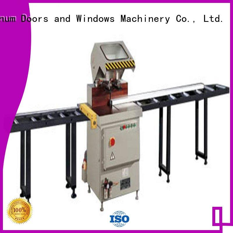 best-selling cutting machine price cnc for plastic profile in plant