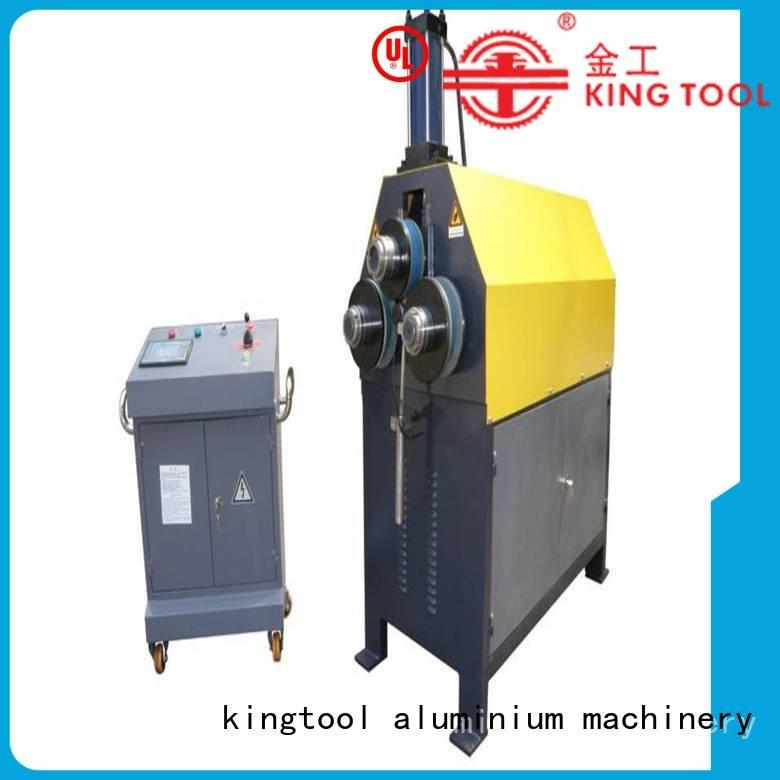 kingtool aluminium machinery Brand 3roller aluminum bending machine