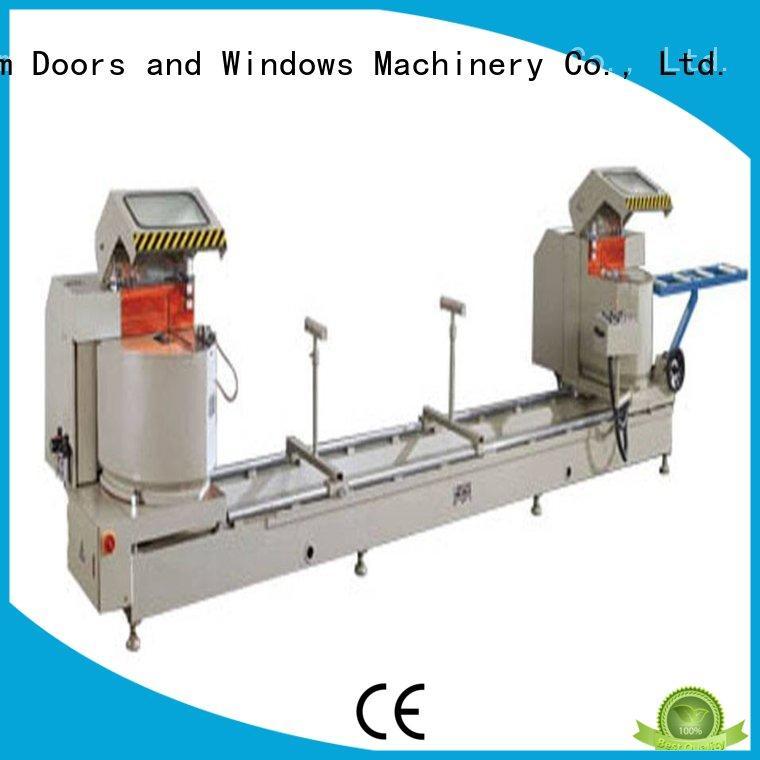 inexpensive aluminium cutting machine cnc for plastic profile in plant