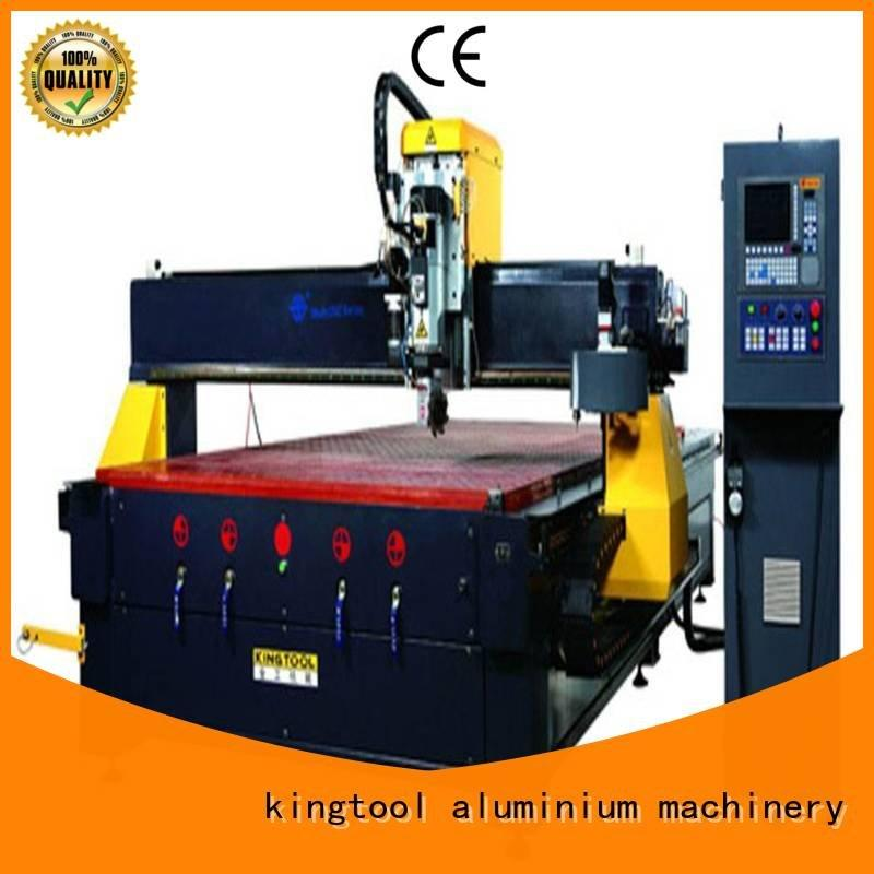 kingtool aluminium machinery cnc 5axis aluminium router machine center router