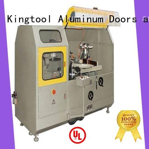 kingtool aluminium machinery aluminum cnc aluminum cutting machine in workshop
