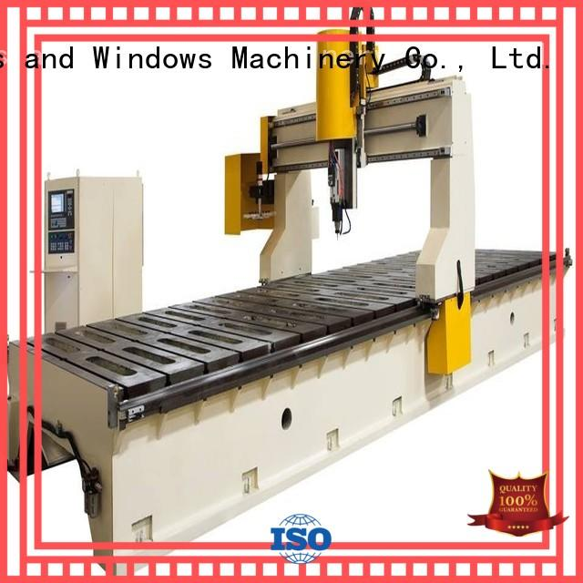 kingtool aluminium machinery cnc router in different color for grooving