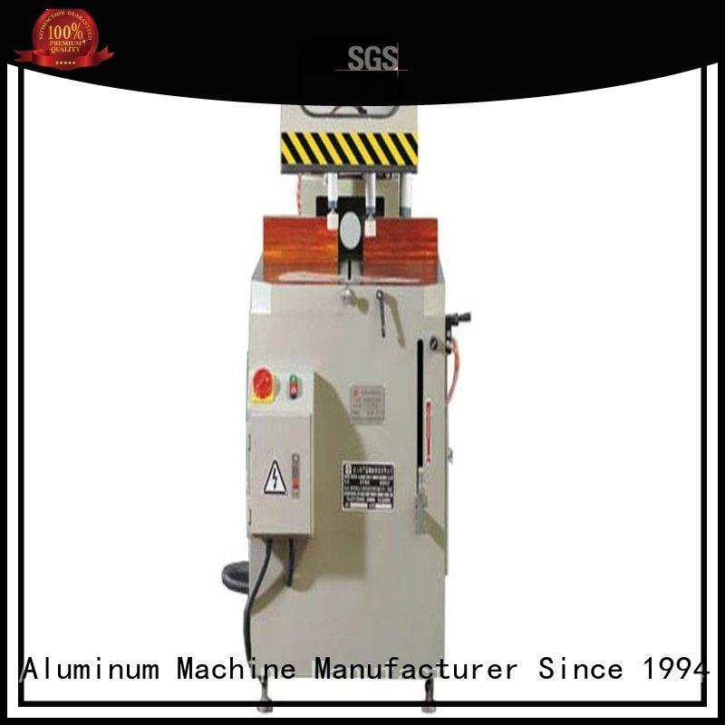 angle curtain manual OEM aluminium cutting machine kingtool aluminium machinery