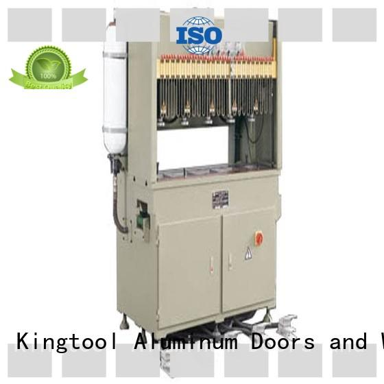 kingtool aluminium machinery best-selling punching machine for aluminium profile bulk production for engraving