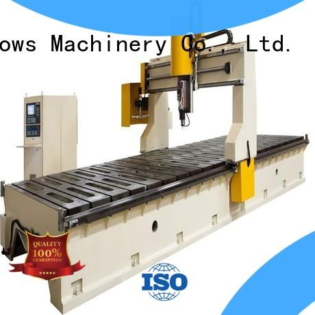 kingtool aluminium machinery precise cnc router for sale China manufacturer for PVC sheets