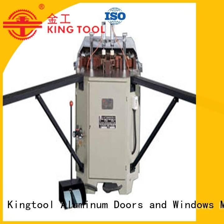 kingtool aluminium machinery duty aluminium crimping machine corner hermalbreak