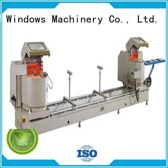 aluminium cutting machine price profile saw 2axis thermalbreak