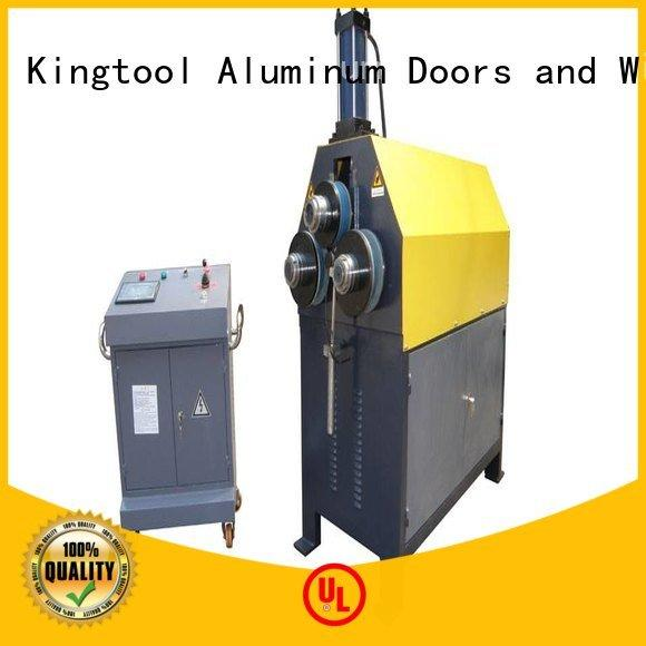Hot aluminum bending machine 3roller kingtool aluminium machinery Brand