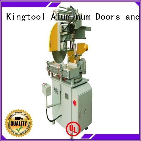kingtool aluminium machinery autofeeding core cutting machine for plastic profile in workshop