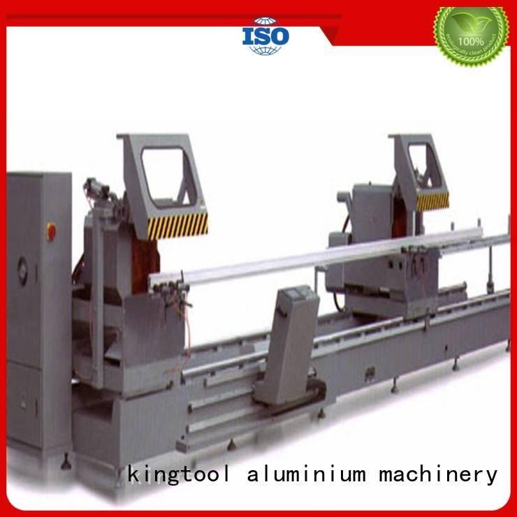 Quality aluminium cutting machine price kingtool aluminium machinery Brand 2axis aluminium cutting machine